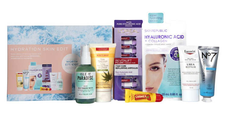 Boots Hydrating Skincare Box 2021