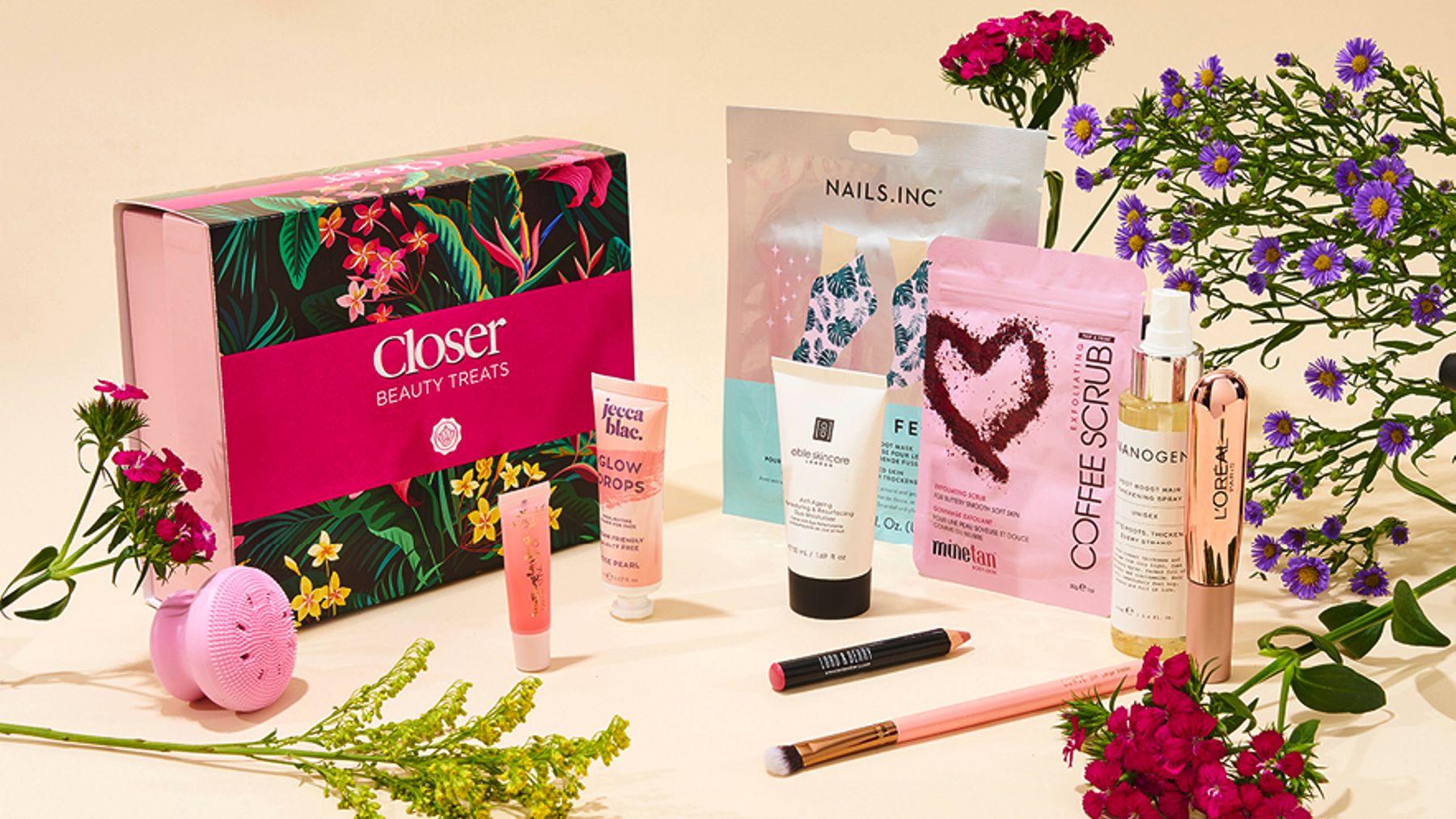 Closer x Glossybox Beauty Box 2021