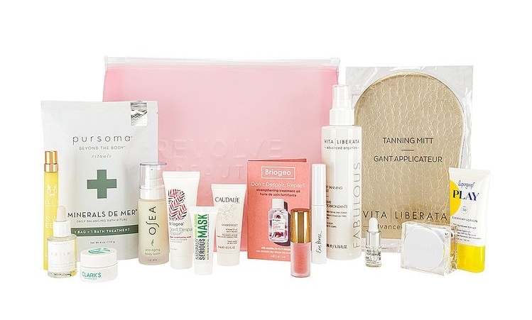 Revolve Clean Beauty Bag 2021