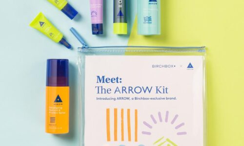 Birchbox Arrow Skincare Kit