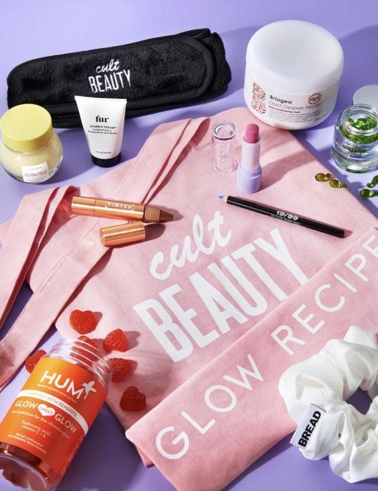 Cult Beauty x Glow Recipe Virtual Summit Goody Bag
