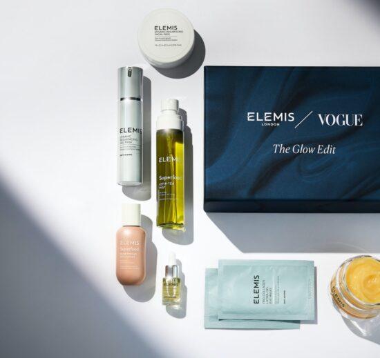Vogue X Elemis Glow Edit Beauty Box