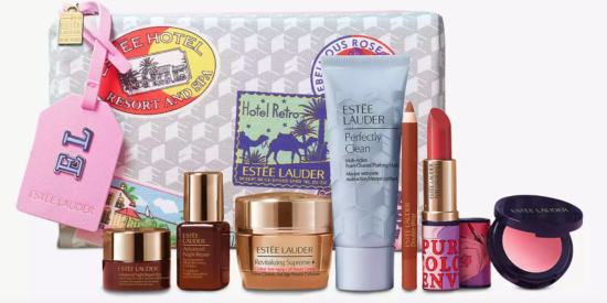 Estée Lauder Spring Skincare Gift With Purchase – Worth £105!