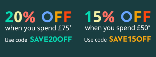 Feel Unique Spend More Save More – Up to 20% Off