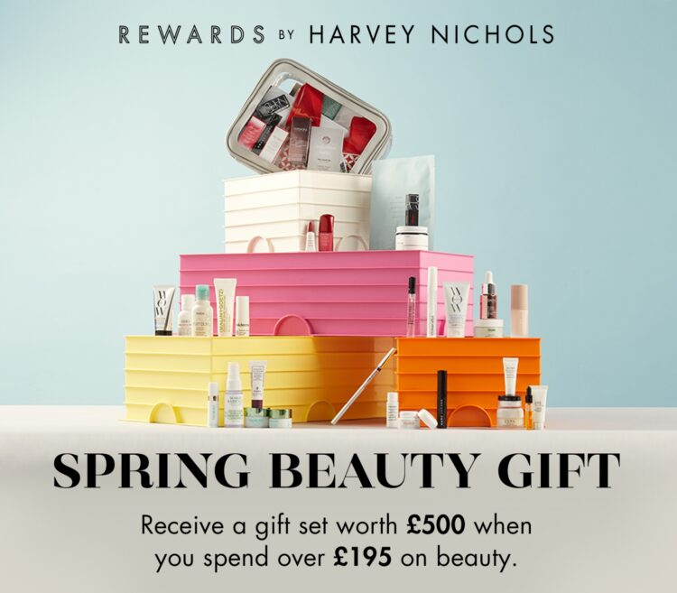 Harvey Nichols gift with purchase 2021