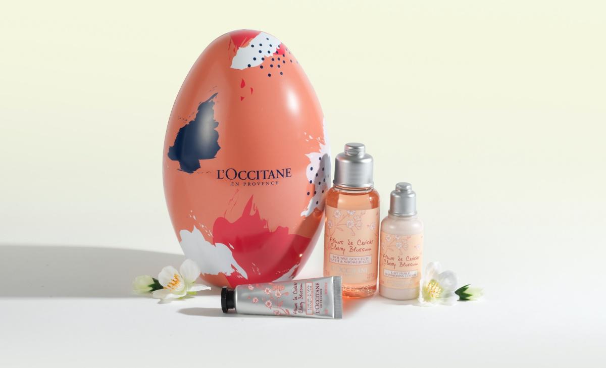 L'OCCITANE Cherry Blossom Easter Egg
