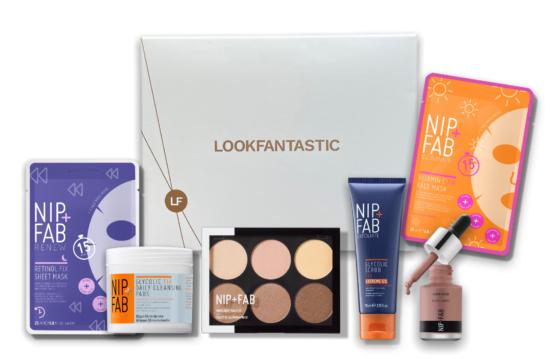LookFantastic x Nip & Fab Limited Edition Box