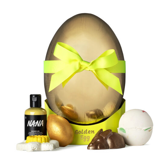 Lush Golden Egg Easter 2021