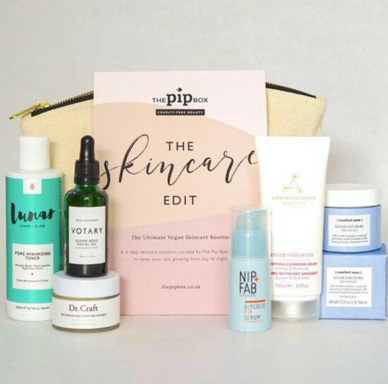 The Pip Box Ultimate Vegan Skincare Kit