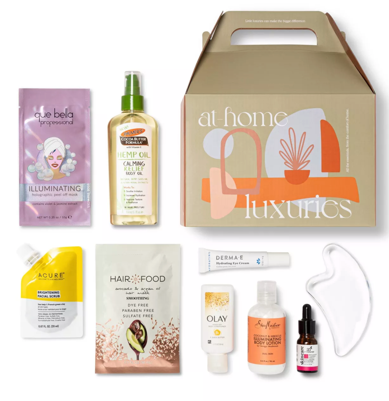 Target At Home Beauty Box