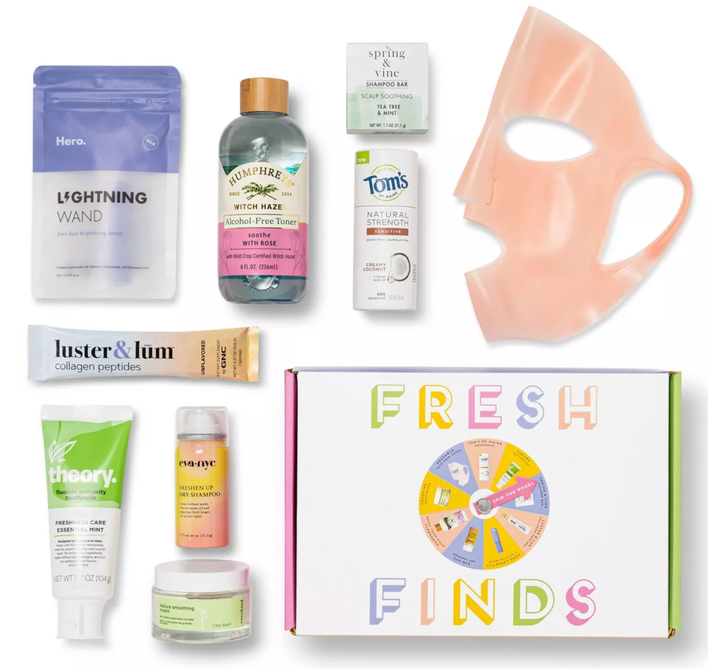 Target Fresh Finds Beauty Box