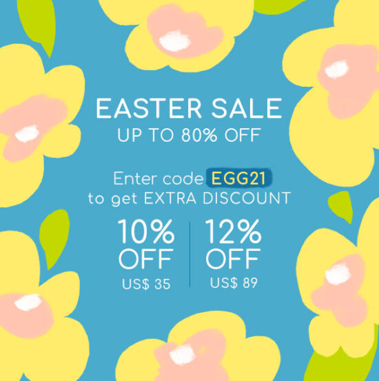 YesStyle Easter Sale – Up to 80% Off & Extra Discount Codes