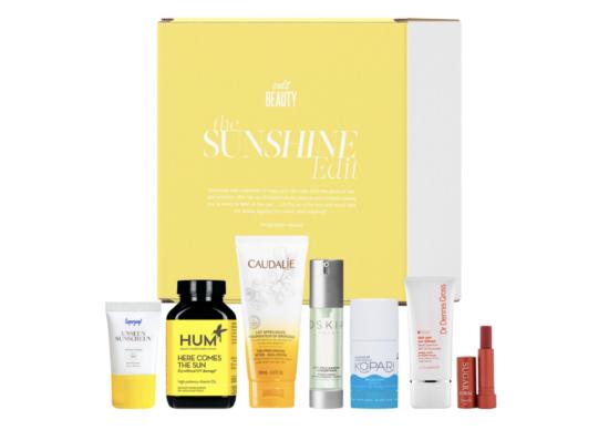 Cult Beauty The Sunshine Edit – Worth Over £135!