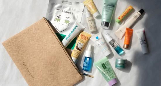 Feel Unique Spring Skincare Edit Beauty Bag