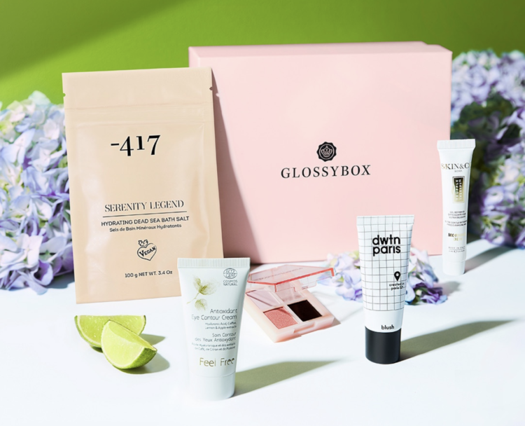 Glossybox April 2021 Contents