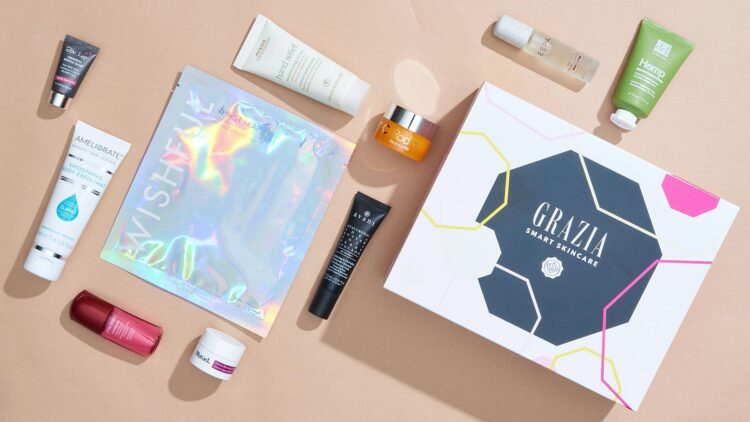 Glossybox x Grazia Skincare Box 2021