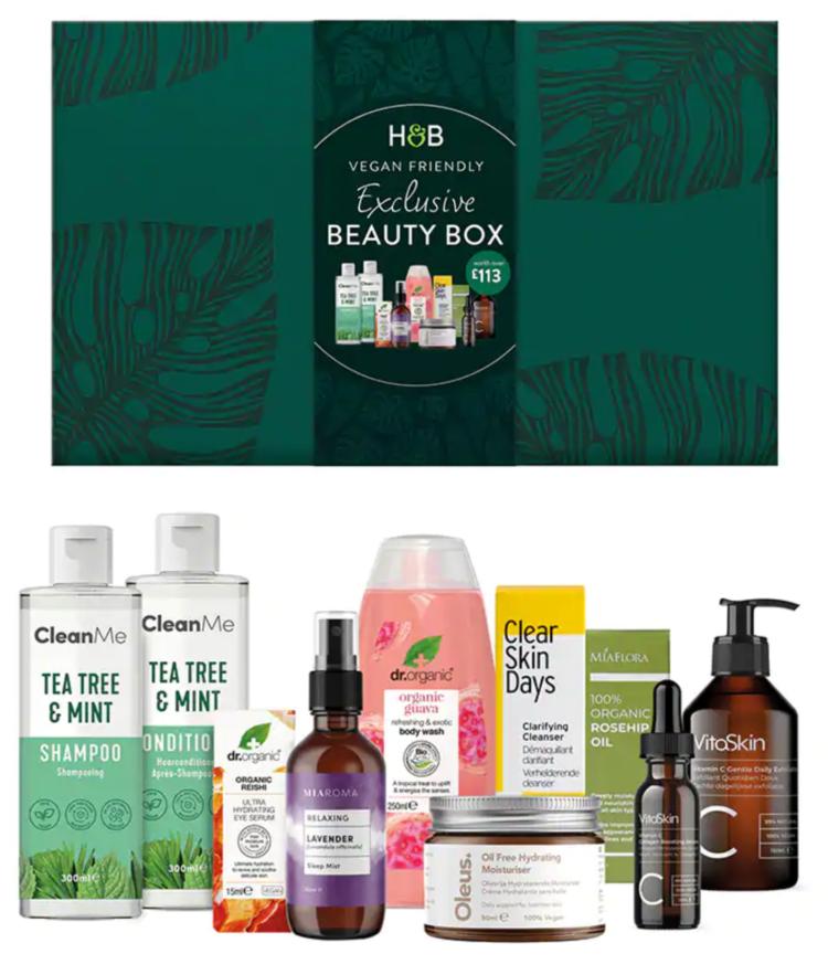 Holland & Barrett Beauty Box April 2021