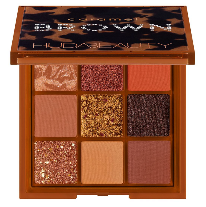 Huda Beauty Caramal Brown Obsessions Palette