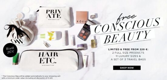 Niche Beauty Conscious Beauty Gift With Purchase
