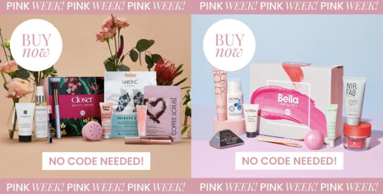 Pink Week Collabs