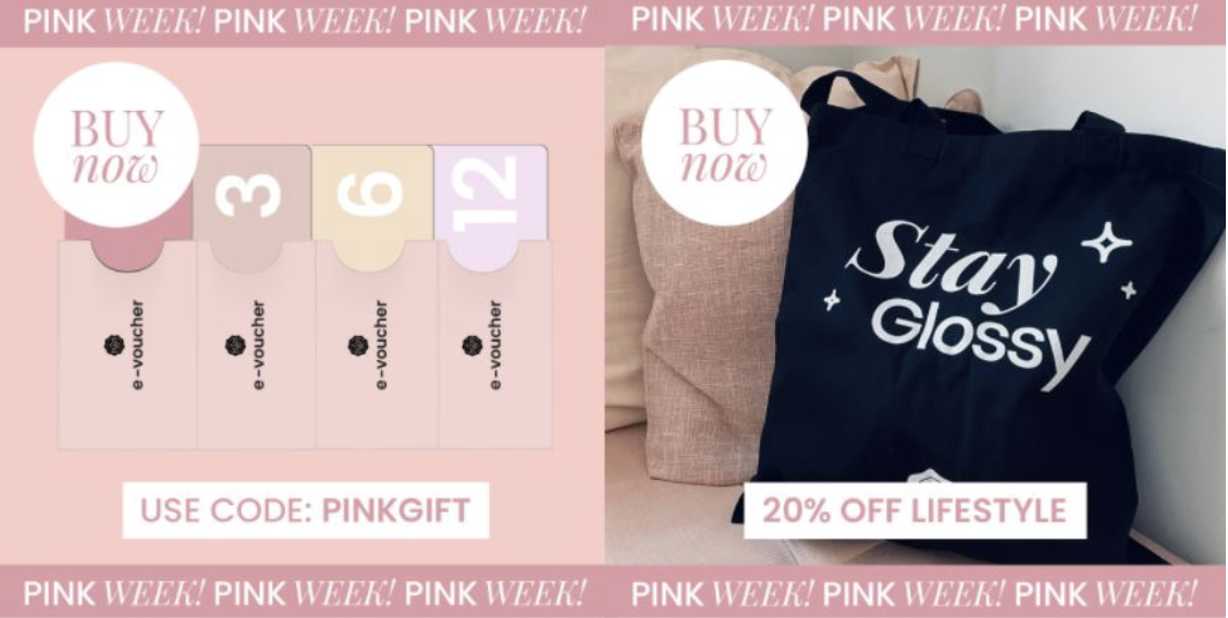 Pink Week Gift Subscription