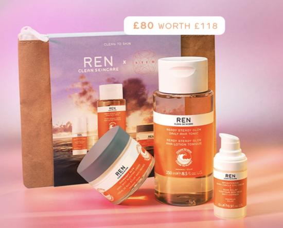 REN x Dr Ateh Jewel Glow Edit – Worth £118!