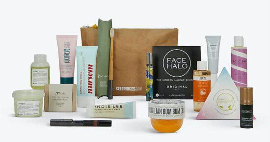 Selfridges Project Earth Beauty Bag 2.0