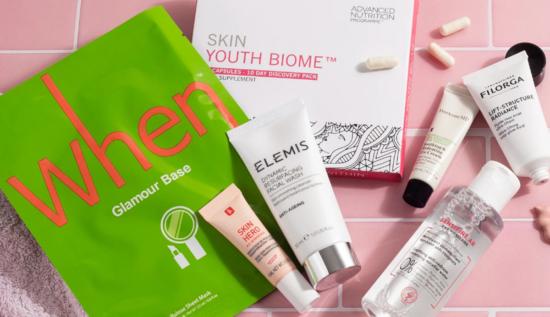Feel Unique Complexion Rescue Skincare Beauty Bag