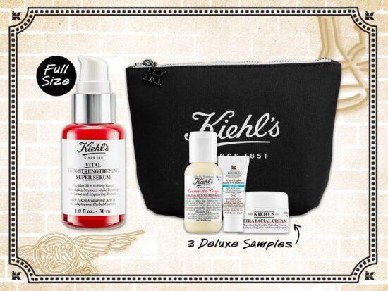 Kiehl's GWP – FREE Vital Skin Strengthening Super Serum