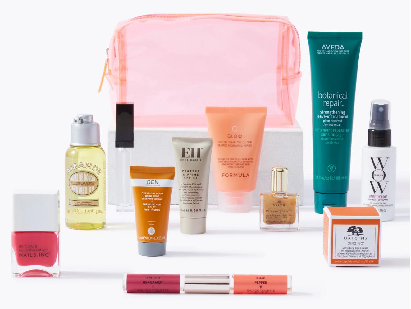 M&S Summerr Beauty Bag