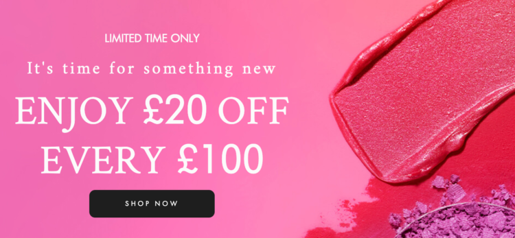 Space NK £20 Off