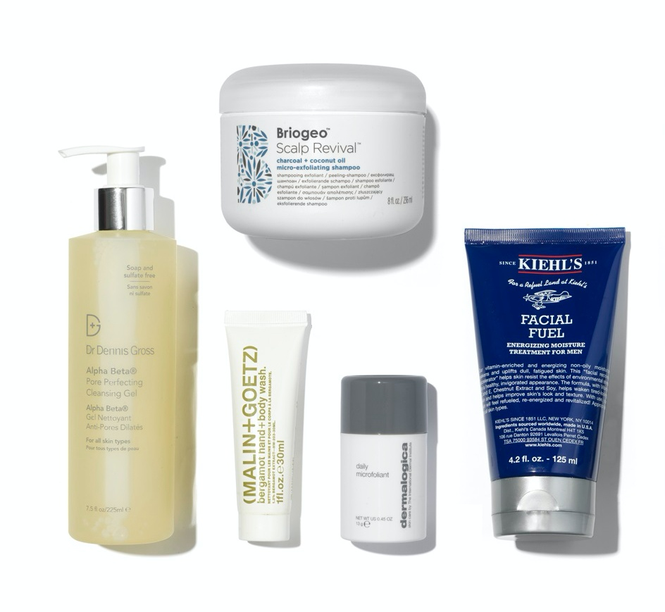 Space NK Mens Contents
