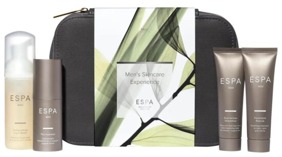 ESPA Men's Skincare Experience Grooming Bag