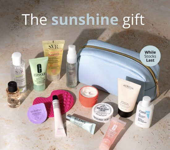 Feel Unique The Sunshine Edit GWP – Worth over £100