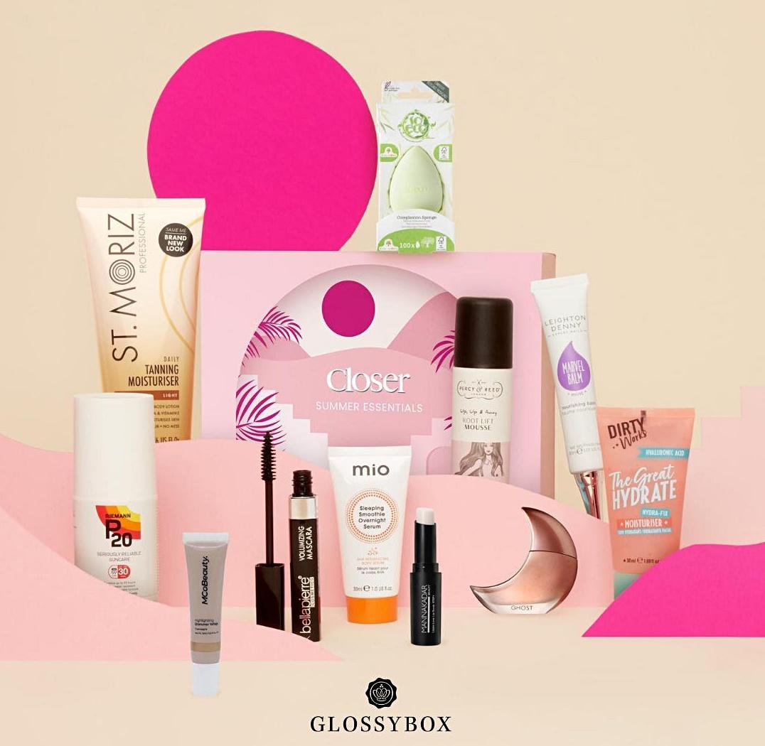 Glossybox x Closer June 2021