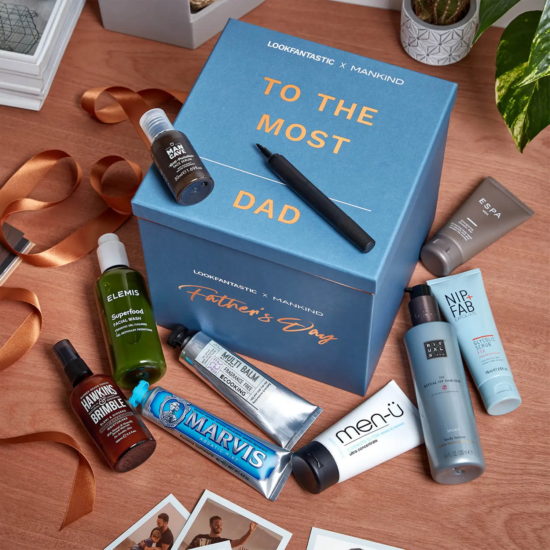 LookFantastic x Mankind Father's Day Box