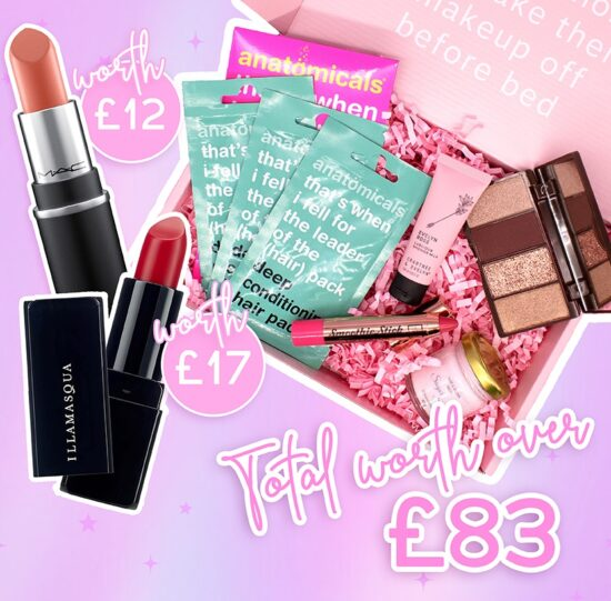 Roccabox – FREE MAC Cosmetics Lipstick & Ilamasqua Lipstick