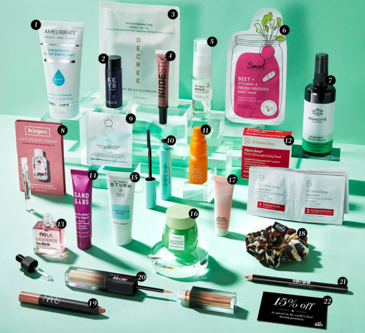 Cult Beauty Unseen Heroes Goody Bag July 2021