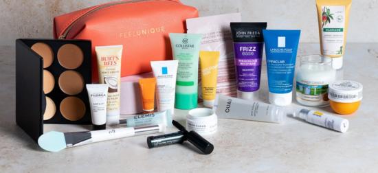 Feel Unique Summer Obsessions GWP Beauty Bag