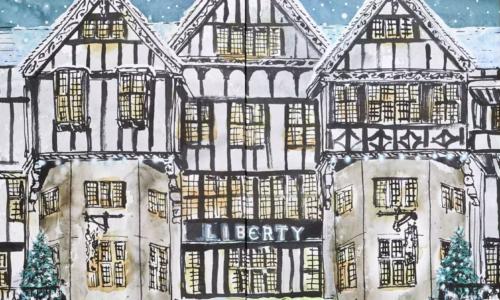 Liberty London Advent 2021