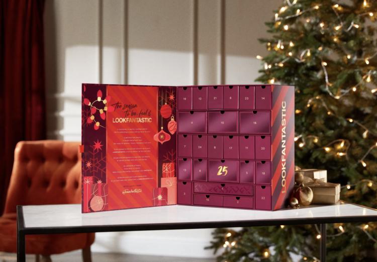 Lookfantastic advent calendar 2021 contents inside