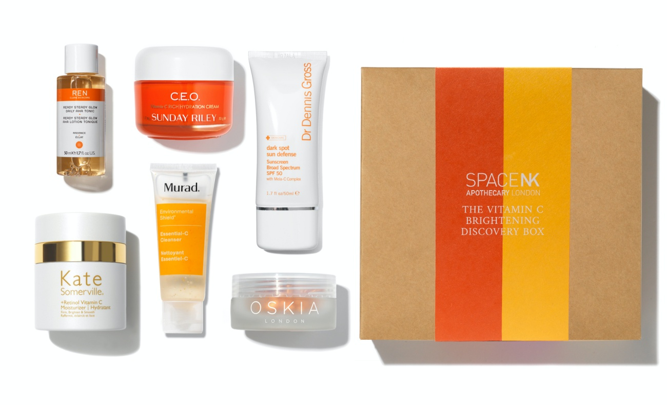 Space NK Vitamin C Discovery Box Contents