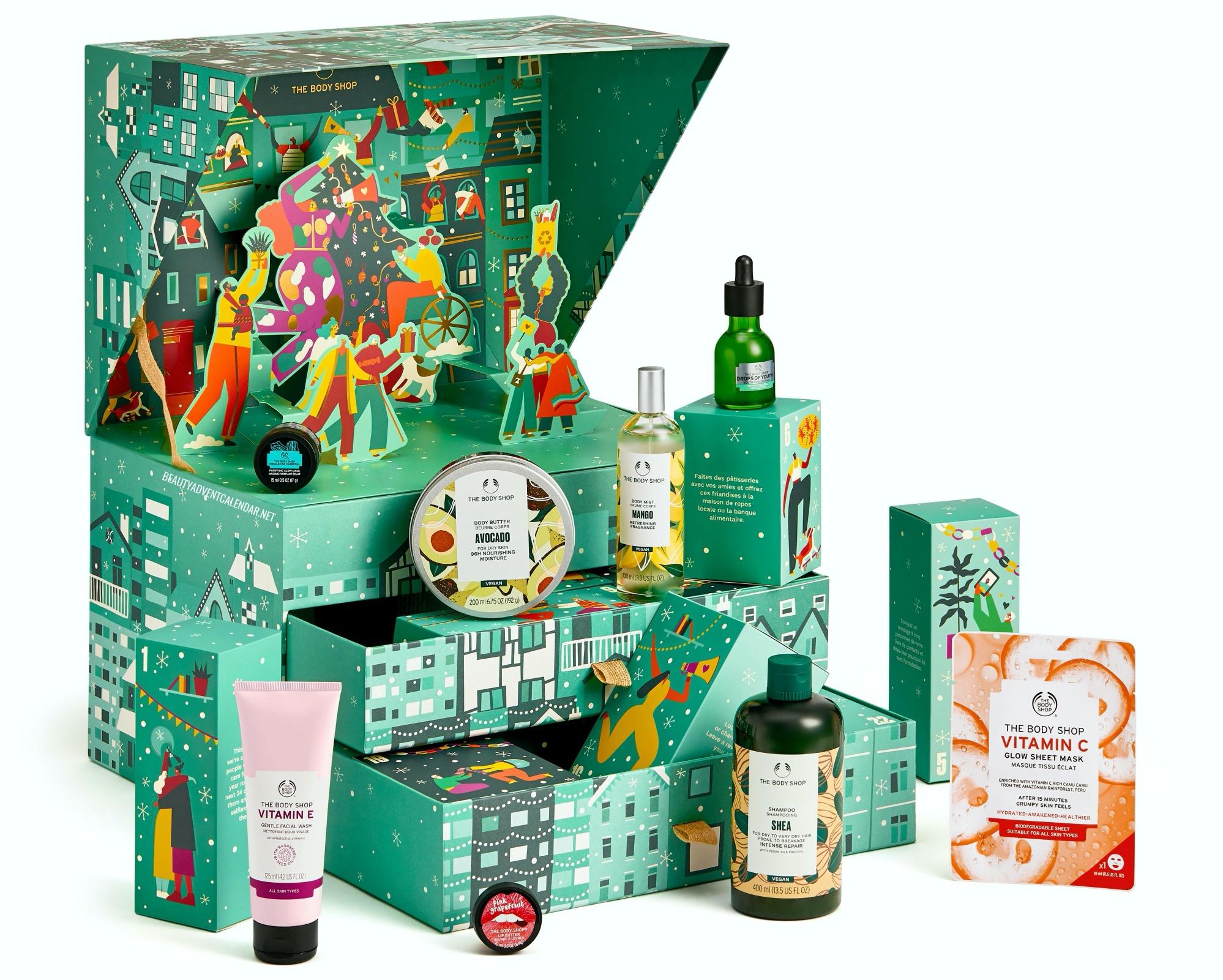 The Body Shop Advent Calendar 2021 Ultimate Green