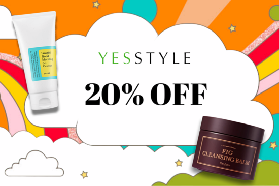 20% Off At YesStyle – Exclusive Discount Code