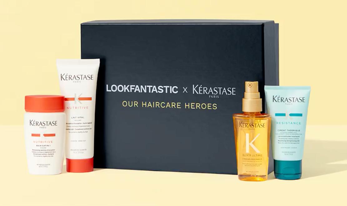 lookfantastic x kerastase haircare heroes
