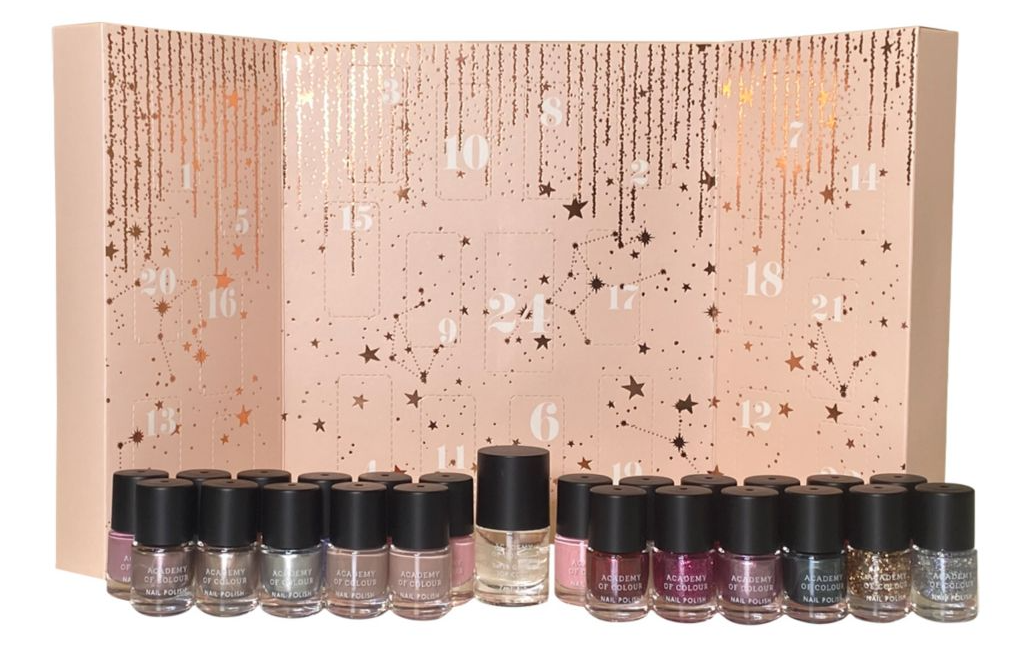 Amelia Knight Academy of Colour Nail Advent Calendar - Contents Include