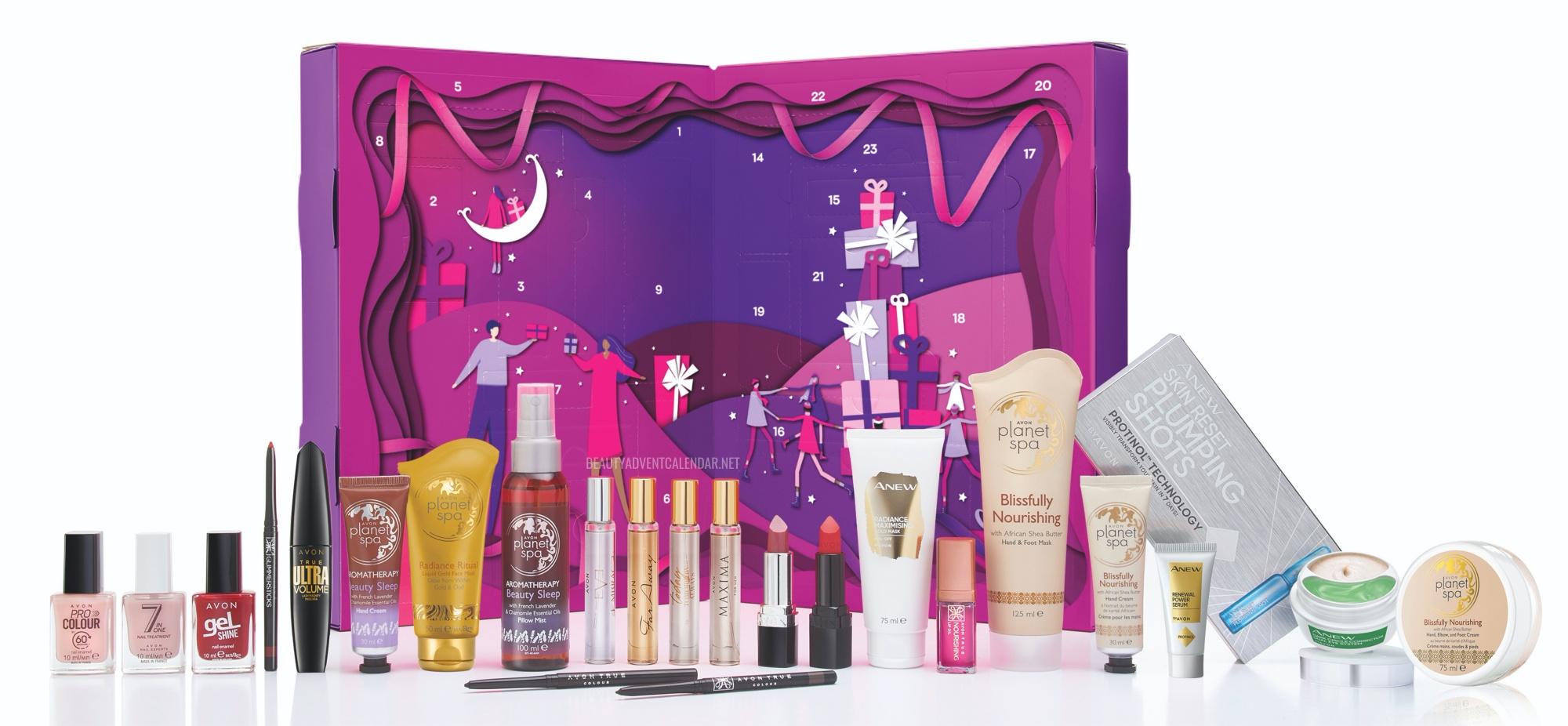 Avon 24-Day Beauty Advent Calendar 2021