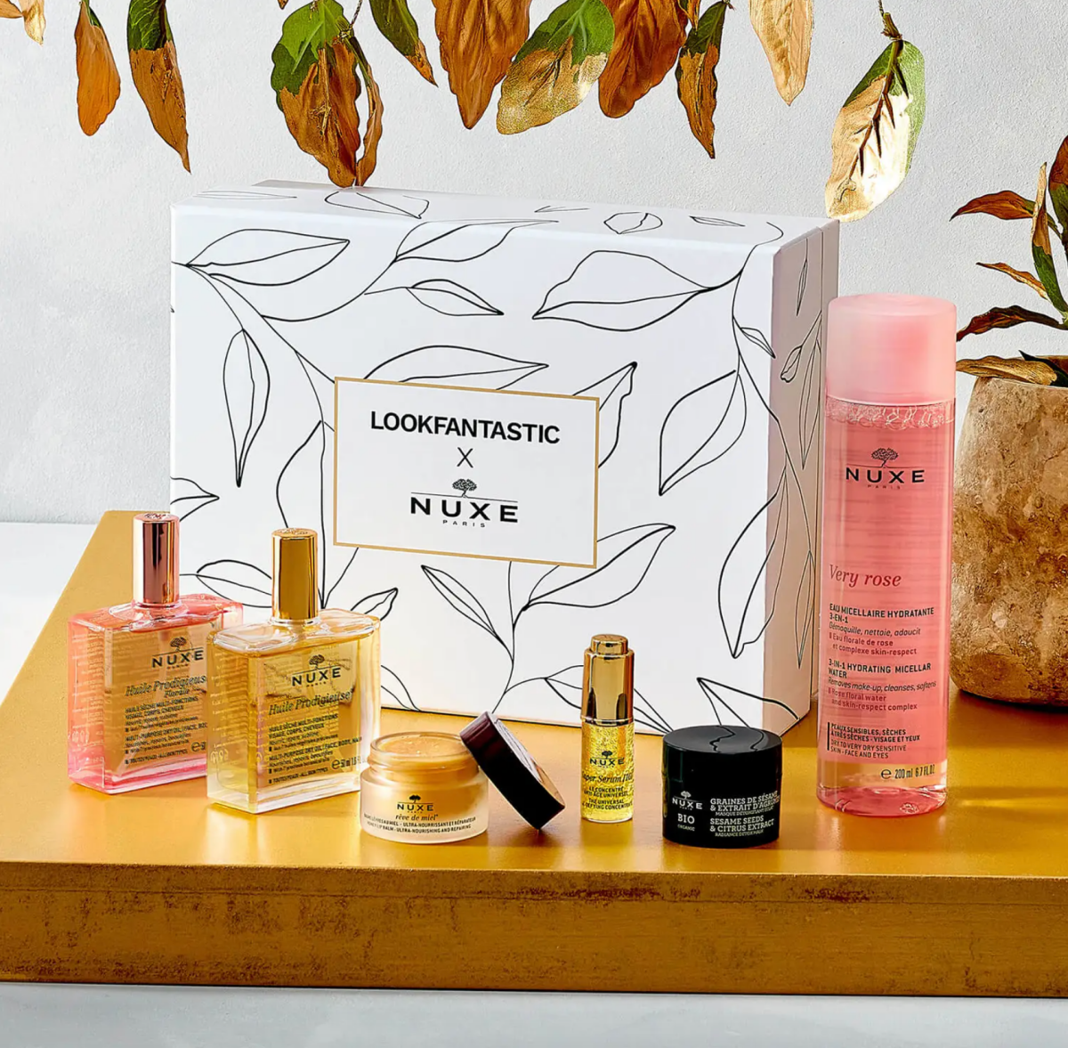 LF x Nuxe Beauty Box