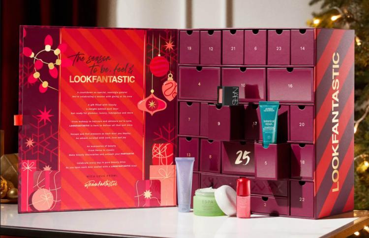 LookFantastic Advent Calendar Contents 2021
