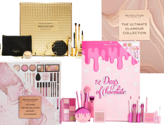 Revolution Beauty Advent Calendars 2021